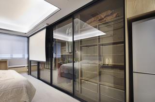 酒店式公寓装修收纳柜图片