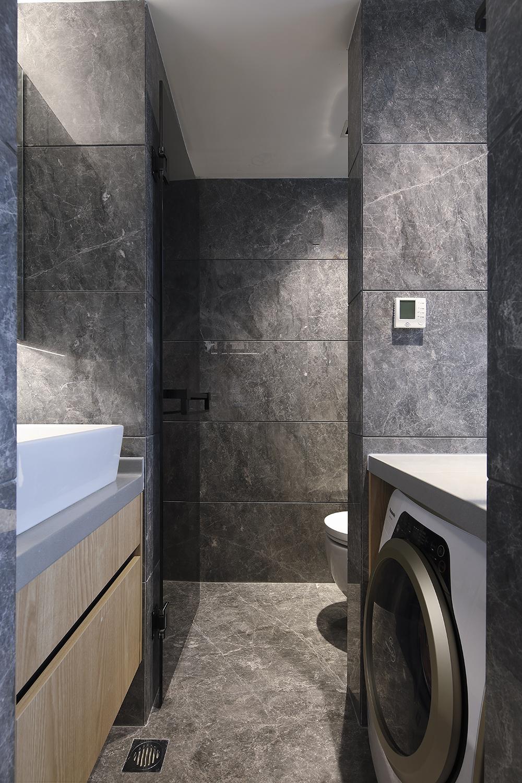 酒店式公寓装修浴室柜图片