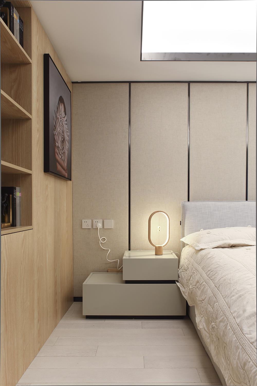 酒店式公寓装修设计床头装饰
