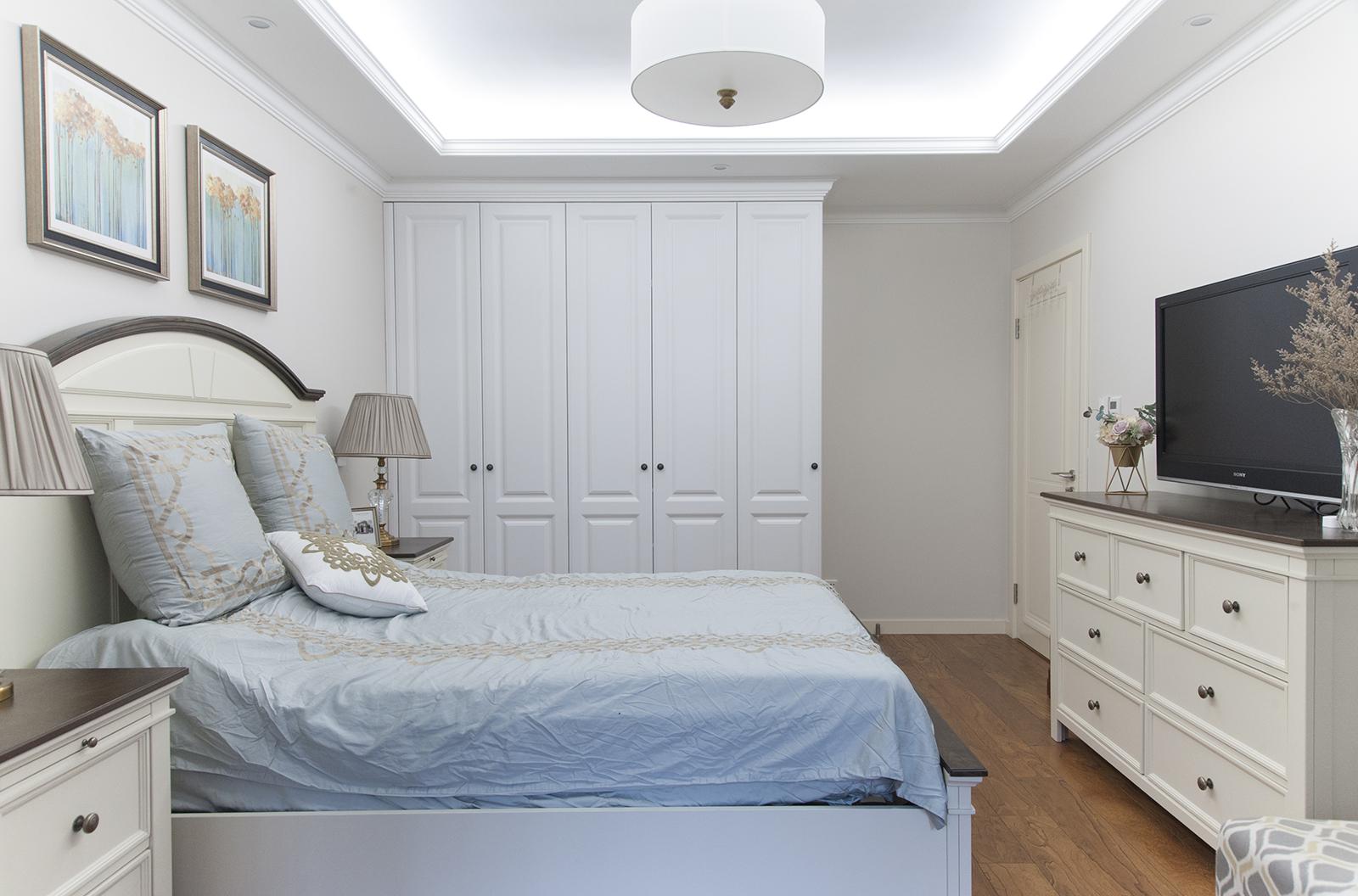二居室美式风格家卧室设计图