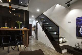 酒店式公寓装修楼梯设计
