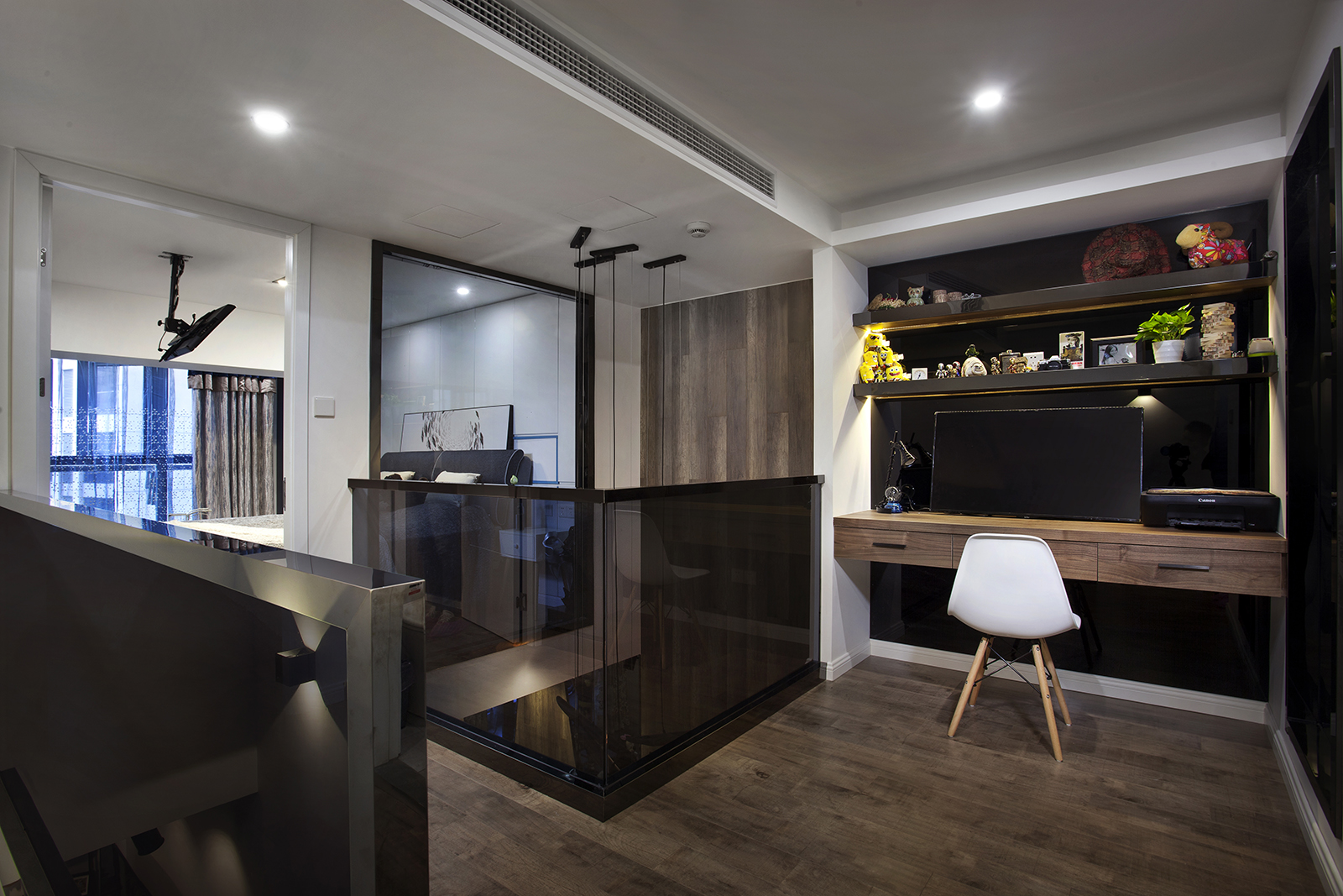 酒店式公寓装修书房设计图