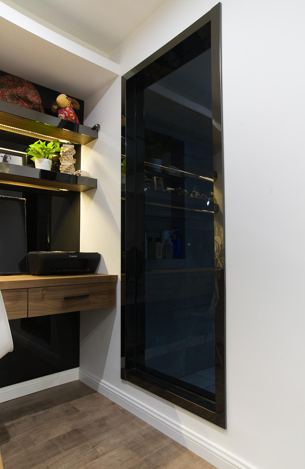 酒店式公寓装修玻璃开窗设计