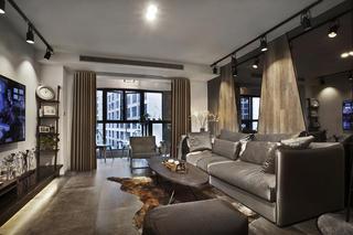 酒店式公寓装修客厅设计图