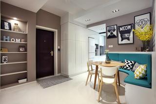 简约二居室装修门厅设计