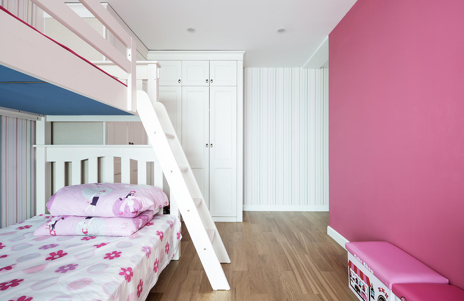 大户型美式之家儿童床图片
