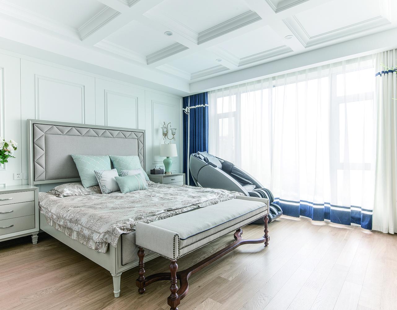 大户型美式之家卧室效果图