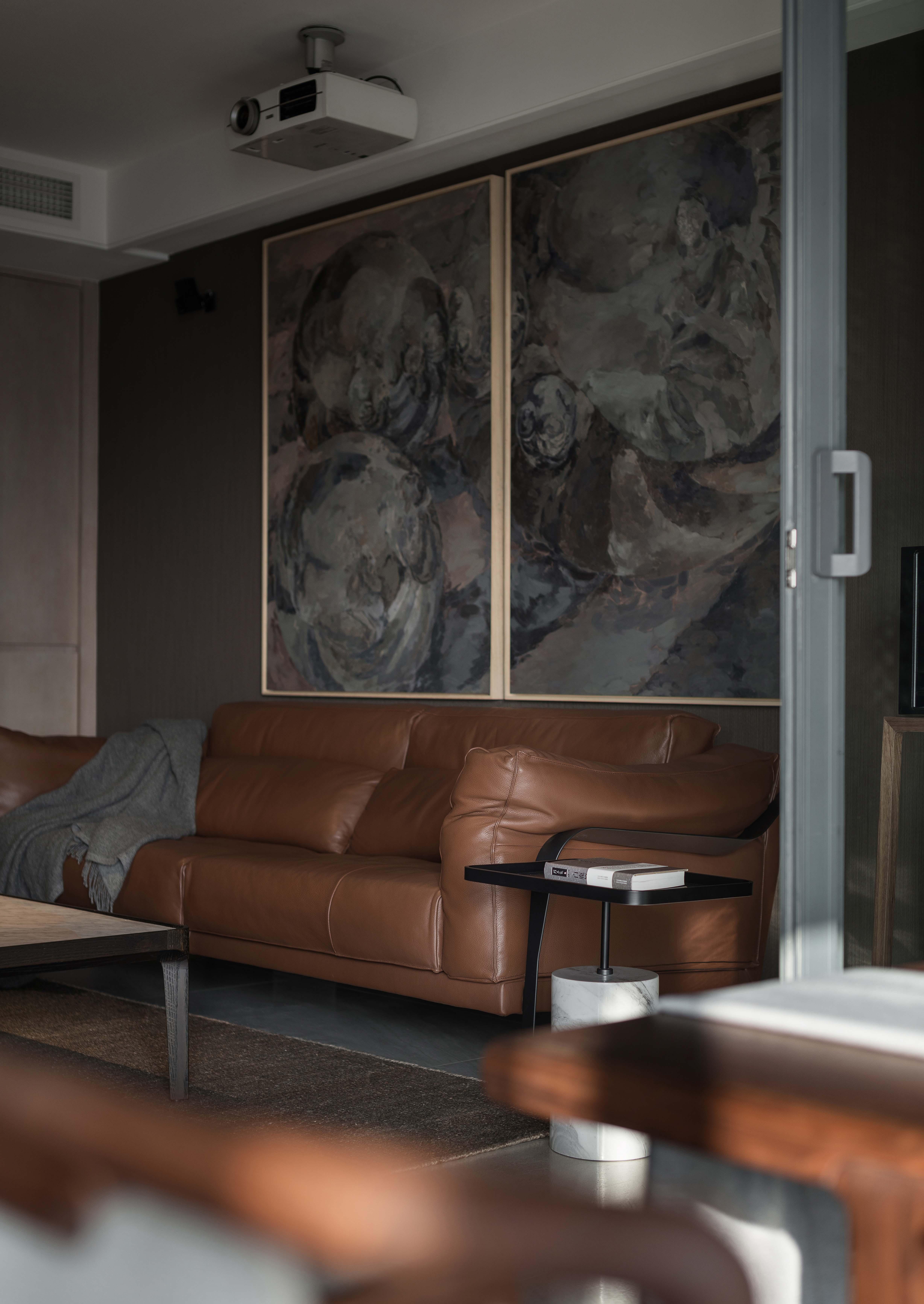 180㎡现代风格装修沙发背景墙图片
