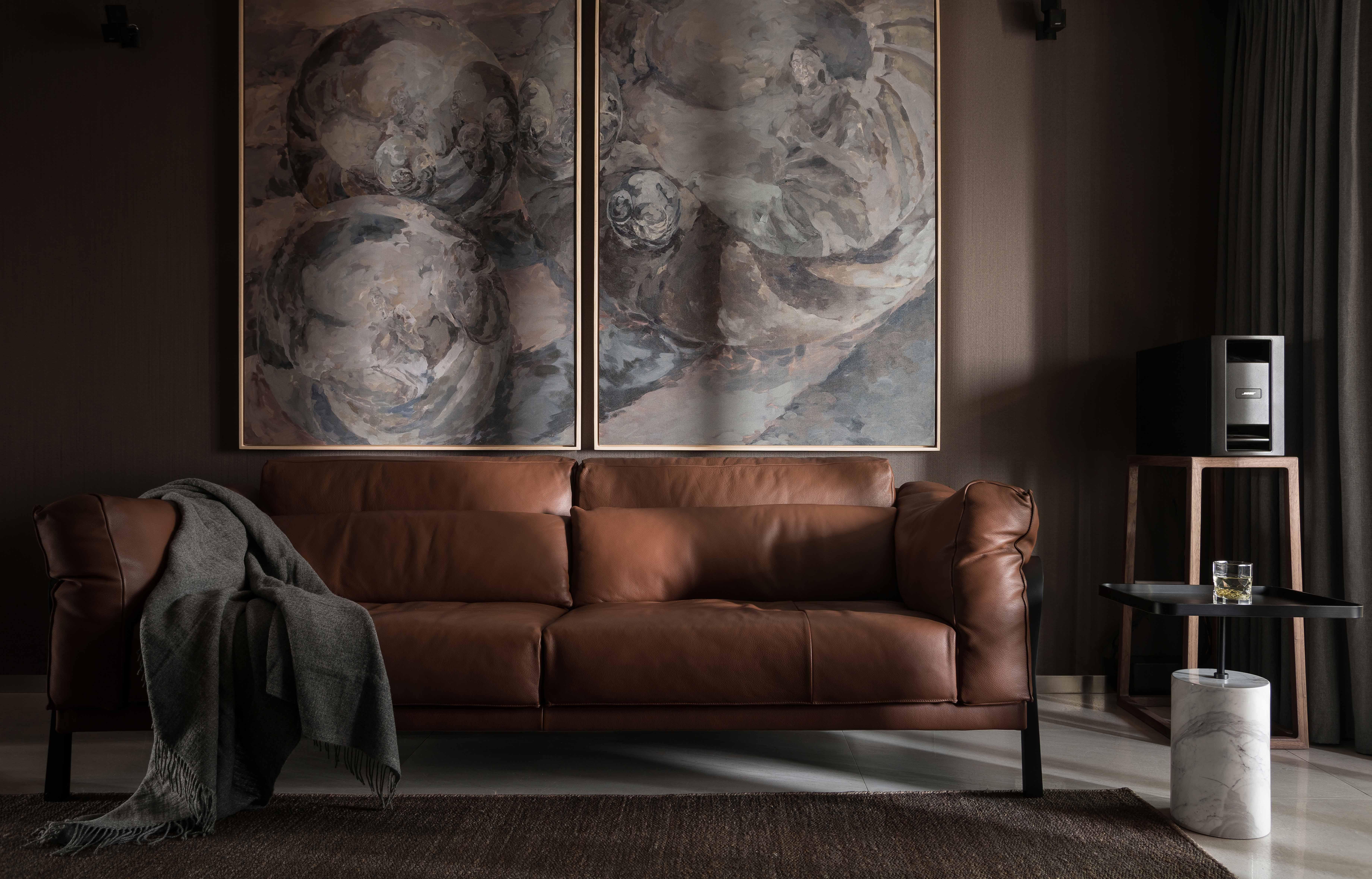 180㎡现代风格装修沙发图片