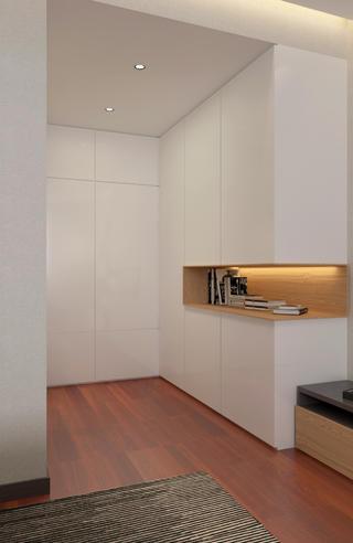 138㎡现代风装修衣柜图片