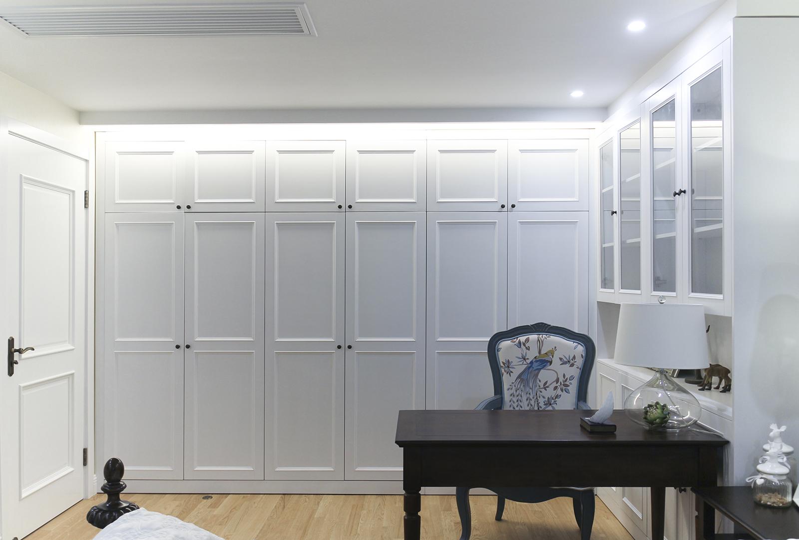 125平美式风格家衣柜图片