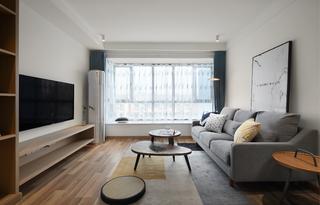 北欧二居室装修客厅设计图