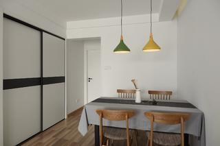 北欧二居室装修餐厅设计图