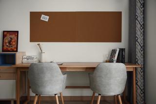 北欧二居室装修书桌图片