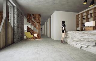 复式民宿装修过道设计