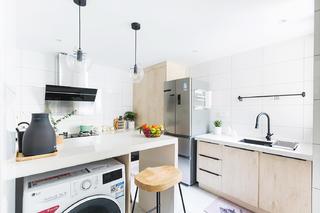 北欧复式装修厨房设计图