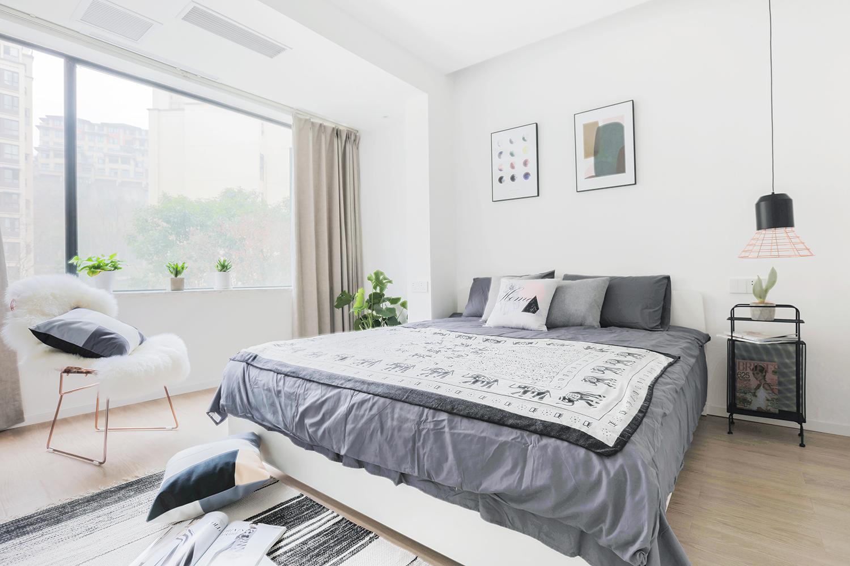 北欧复式装修卧室效果图