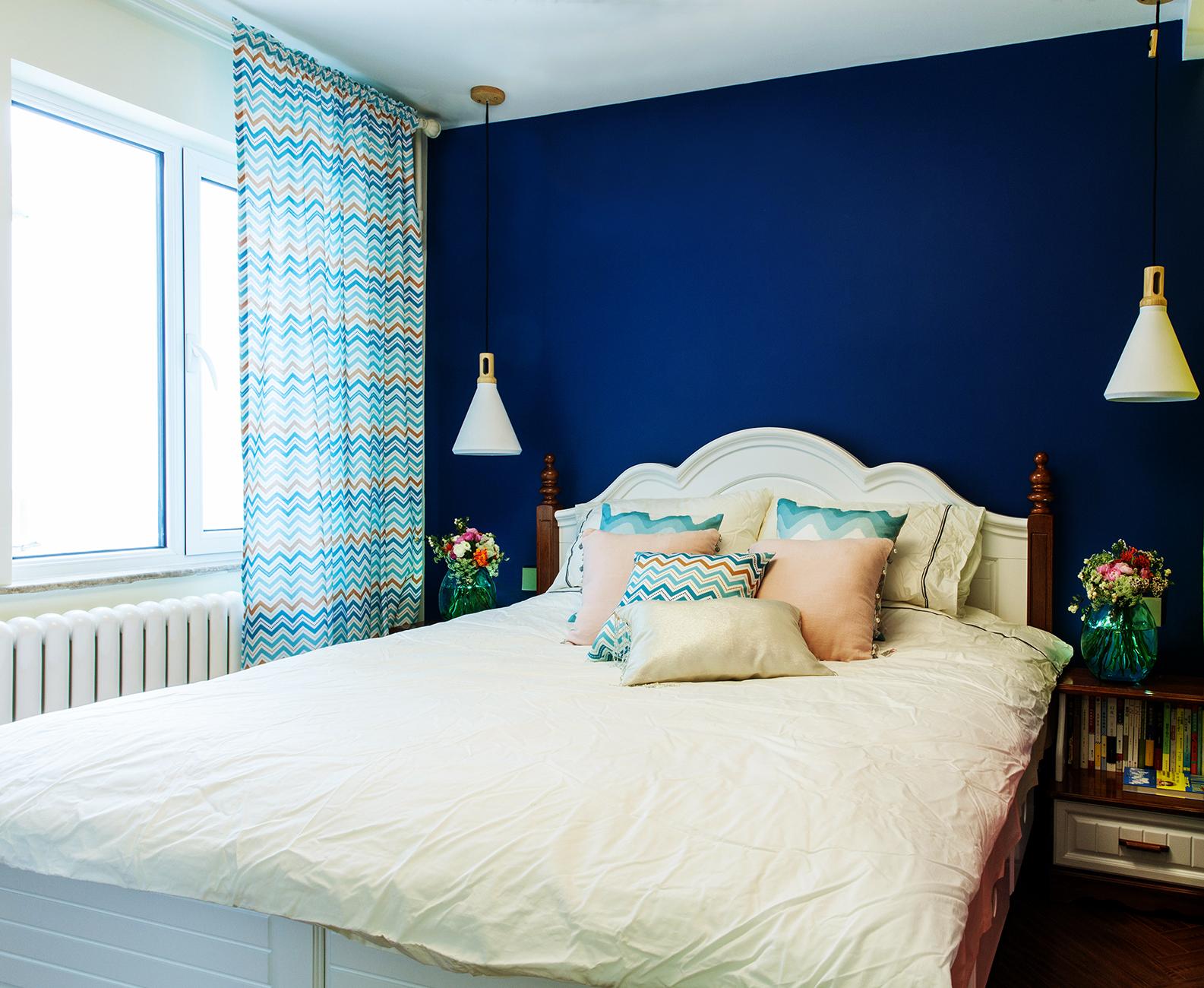60平混搭风格家卧室效果图