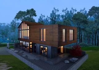 复式民宿装修庭院设计