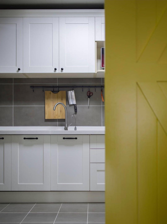 北欧三居室装修橱柜图片