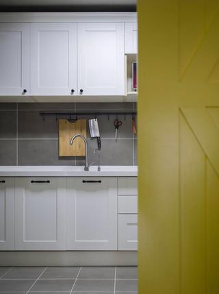 北歐三居室裝修櫥柜圖片