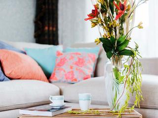 美式別墅裝修花瓶裝飾