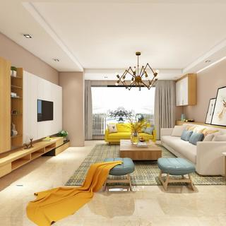 北欧三居室设计 多姿多彩