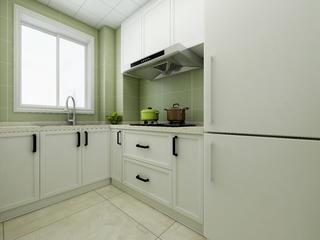 60平简约二居装修厨房参考图