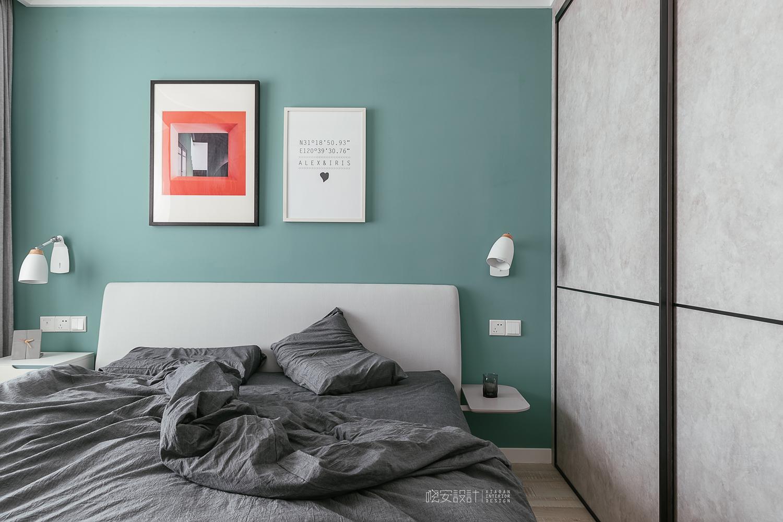 90平北欧风之家衣柜图片