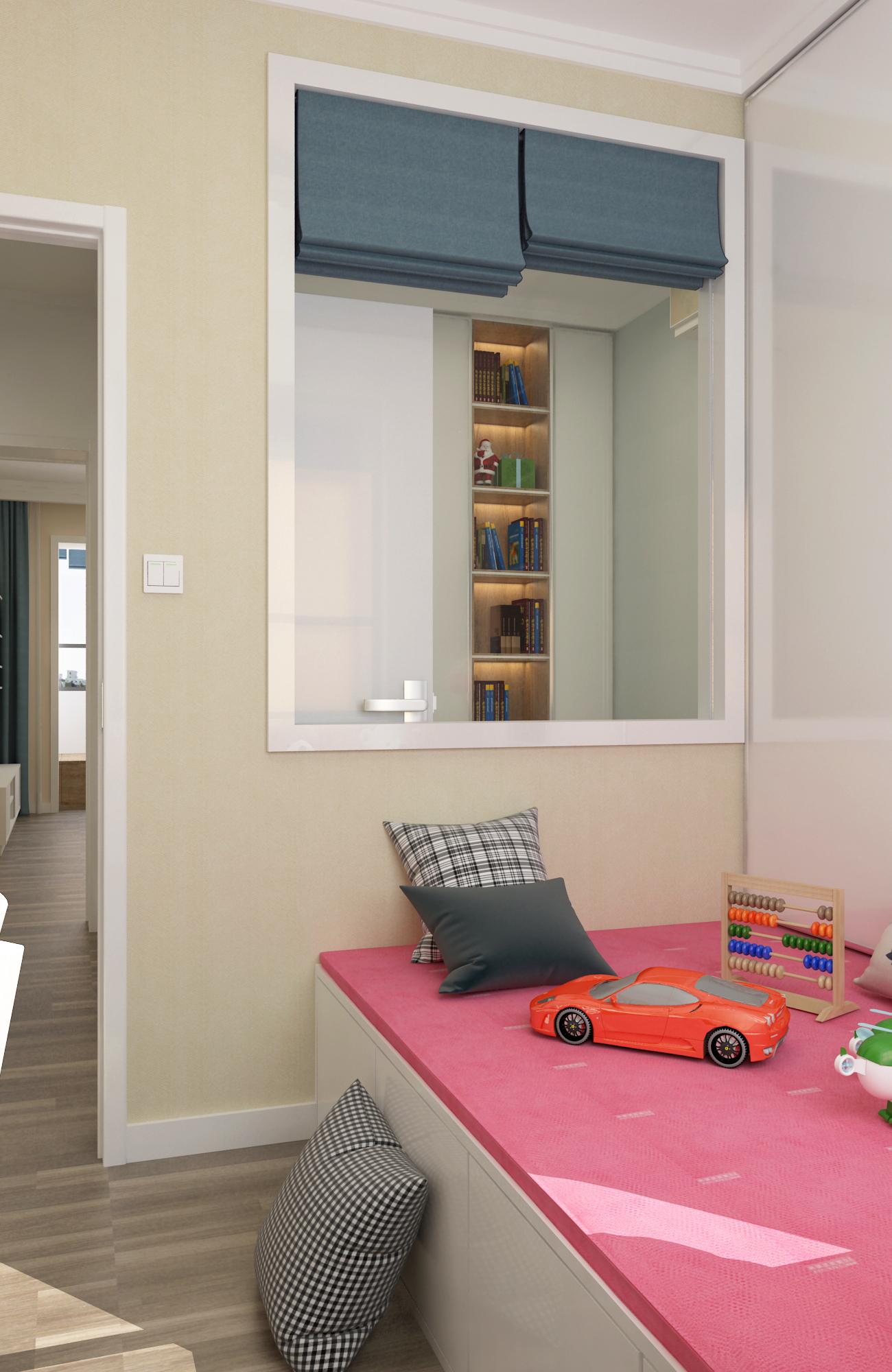 50平简约风格家储物空间设计