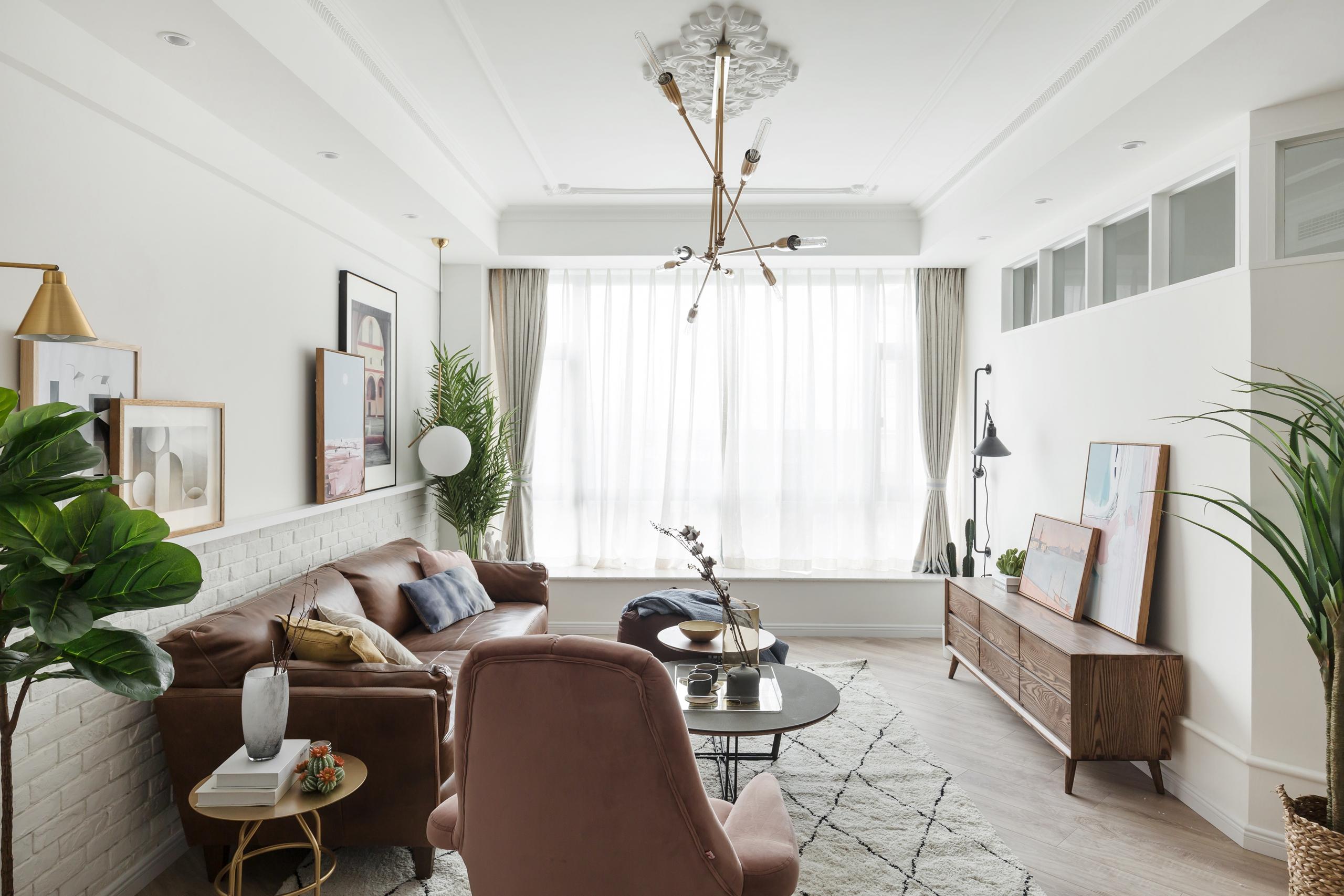 北欧三居装修客厅效果图