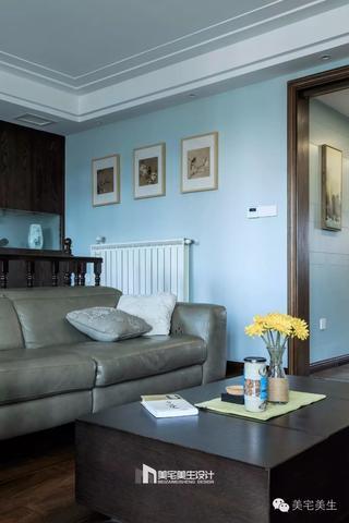 120㎡复式三居装修茶几沙发设计