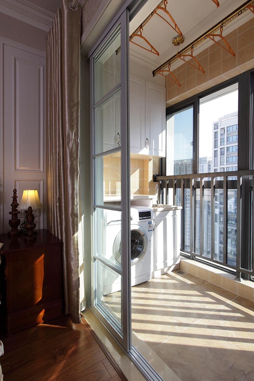 美式风格两居室阳台装修效果图