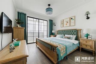70平美式风卧室每日首存送20