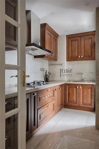 143㎡美式风格厨房装修效果图