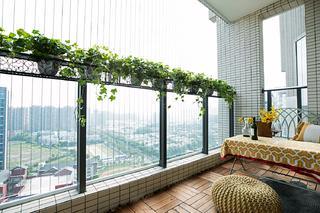 176平米四居室阳台装修效果图