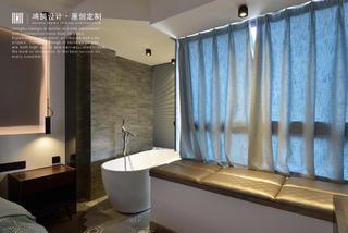 110平米两居装修卧室浴缸设计