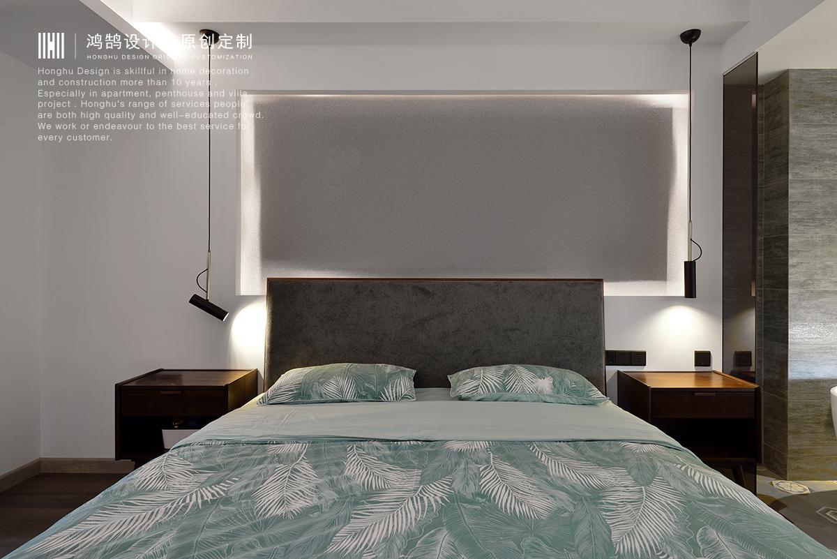 110平米两居卧室装修效果图