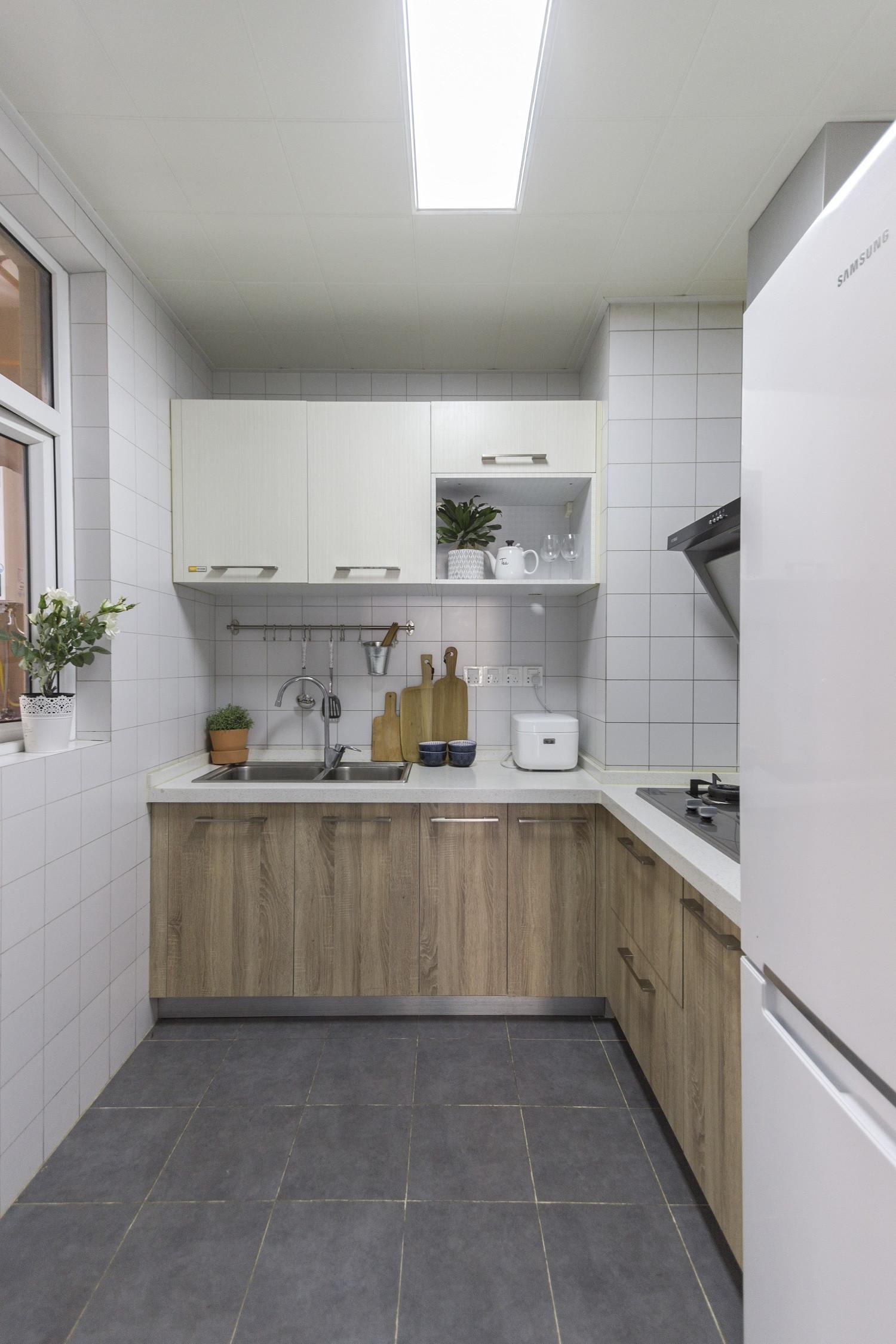 93㎡北欧风格厨房装修效果图