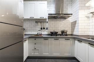 混搭风格两居室厨房每日首存送20