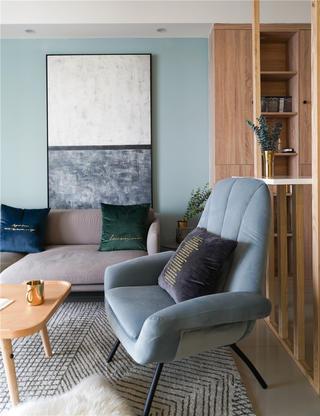 150平北欧风装修沙发椅设计