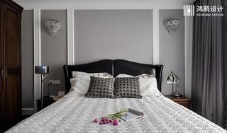 150平米三居卧室背景墙装修效果图