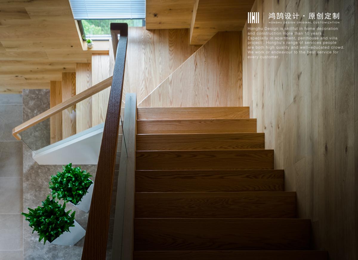 大户型复式装修楼梯效果图