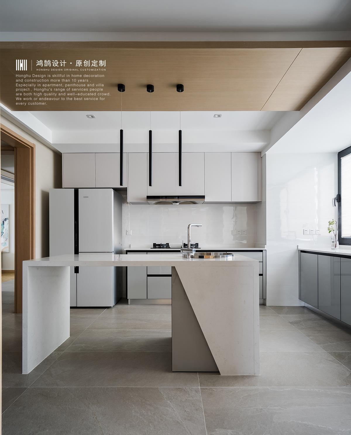 大户型复式装修厨房效果图