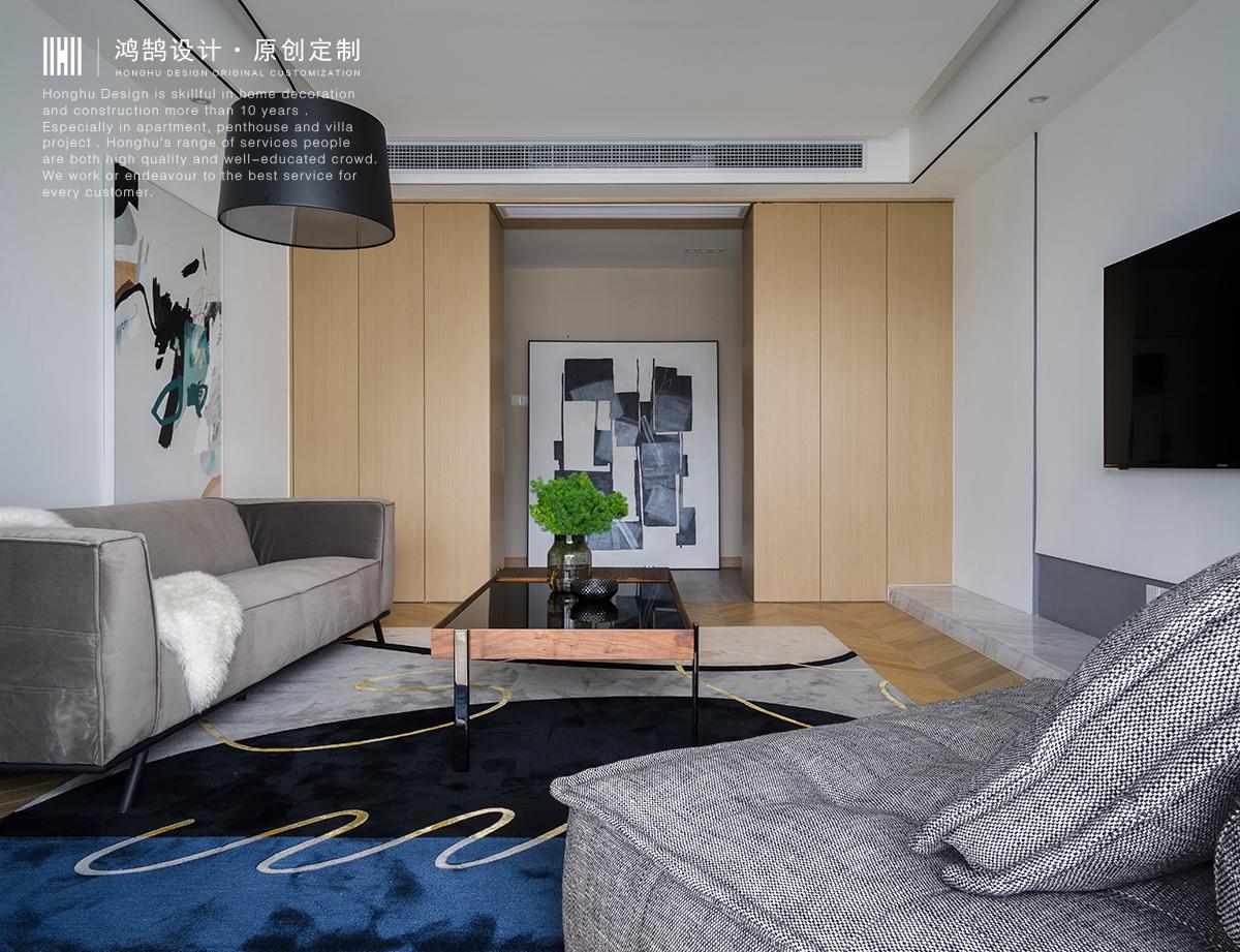 大户型复式装修客厅效果图
