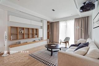 日式风格二居室客厅装修效果图