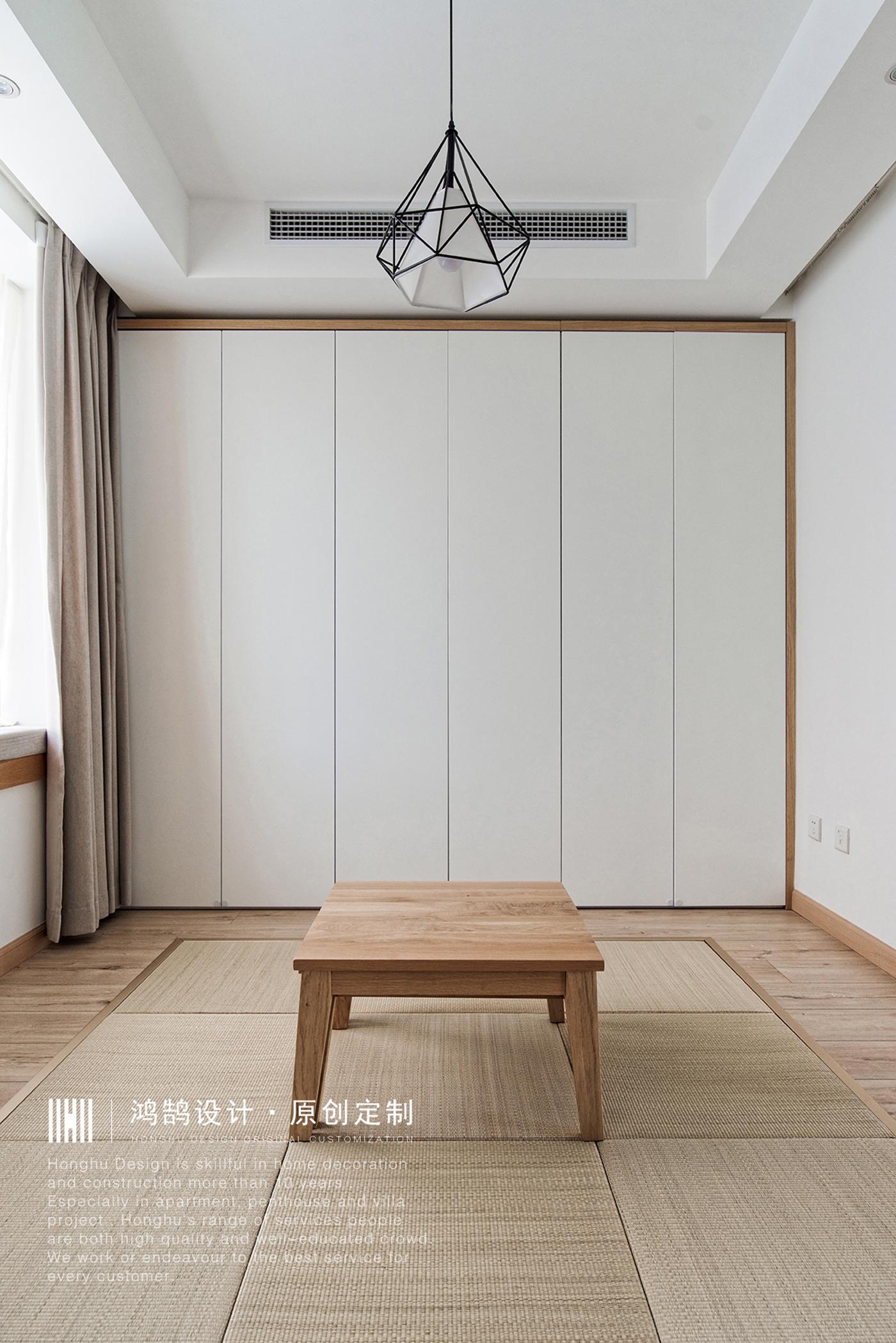 日式风格二居多功能室装修效果图