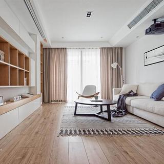 日式风格二居室装修效果图