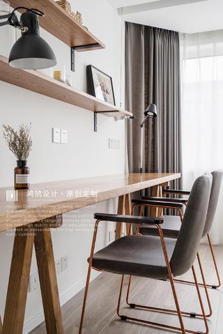 100㎡北欧风格装修书桌椅设计