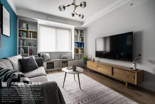 北欧风三居客厅装修效果图